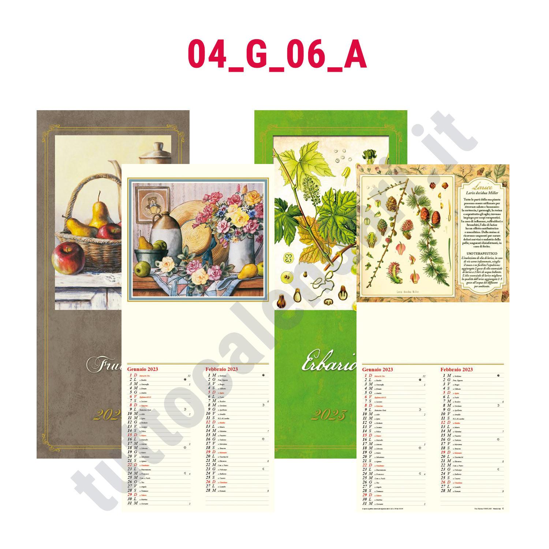 Calendario Illustrato.Calendario Illustrato Bimensile Da Muro Personalizzato