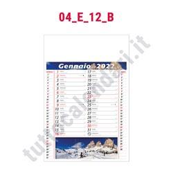 Calendario mensile fotografico 2022