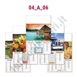 Calendario da parete bimensile vari temi