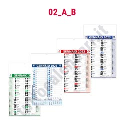 Stampa calendario commerciale olandese