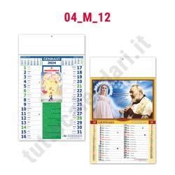 Calendario mensile da muro