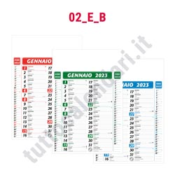Stampa calendario da parete personalizzato