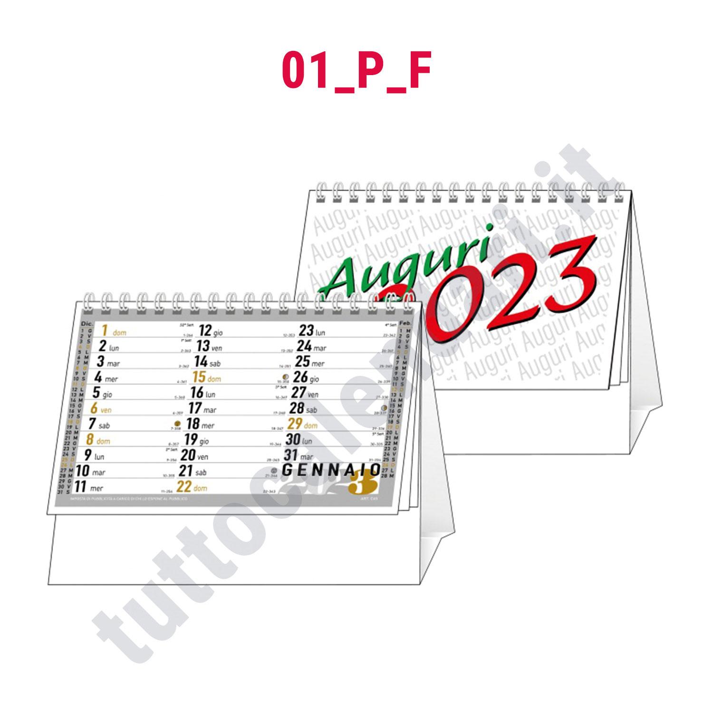 Calendario 2020 Mensile Da Stampare.Calendario Da Tavolo Aziendale Mensile