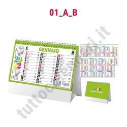 Stampa calendario commerciale da scrivania