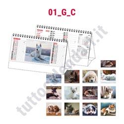 calendario da tavolo 2022 illustrato