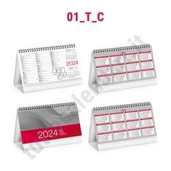 Calendario da scrivania personalizzabile