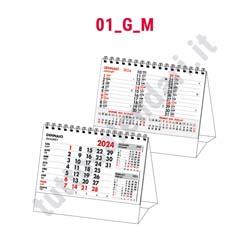 Calendario da tavolo commerciale spiralato