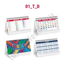 Calendario commerciale spiralato