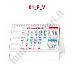 Calendario da banco personalizzabile
