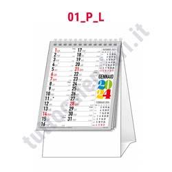Stampa calendario da banco verticale
