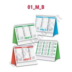 Calendario da tavolo commerciale aziendale