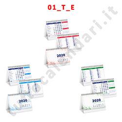 Calendario da banco con personalizzazione